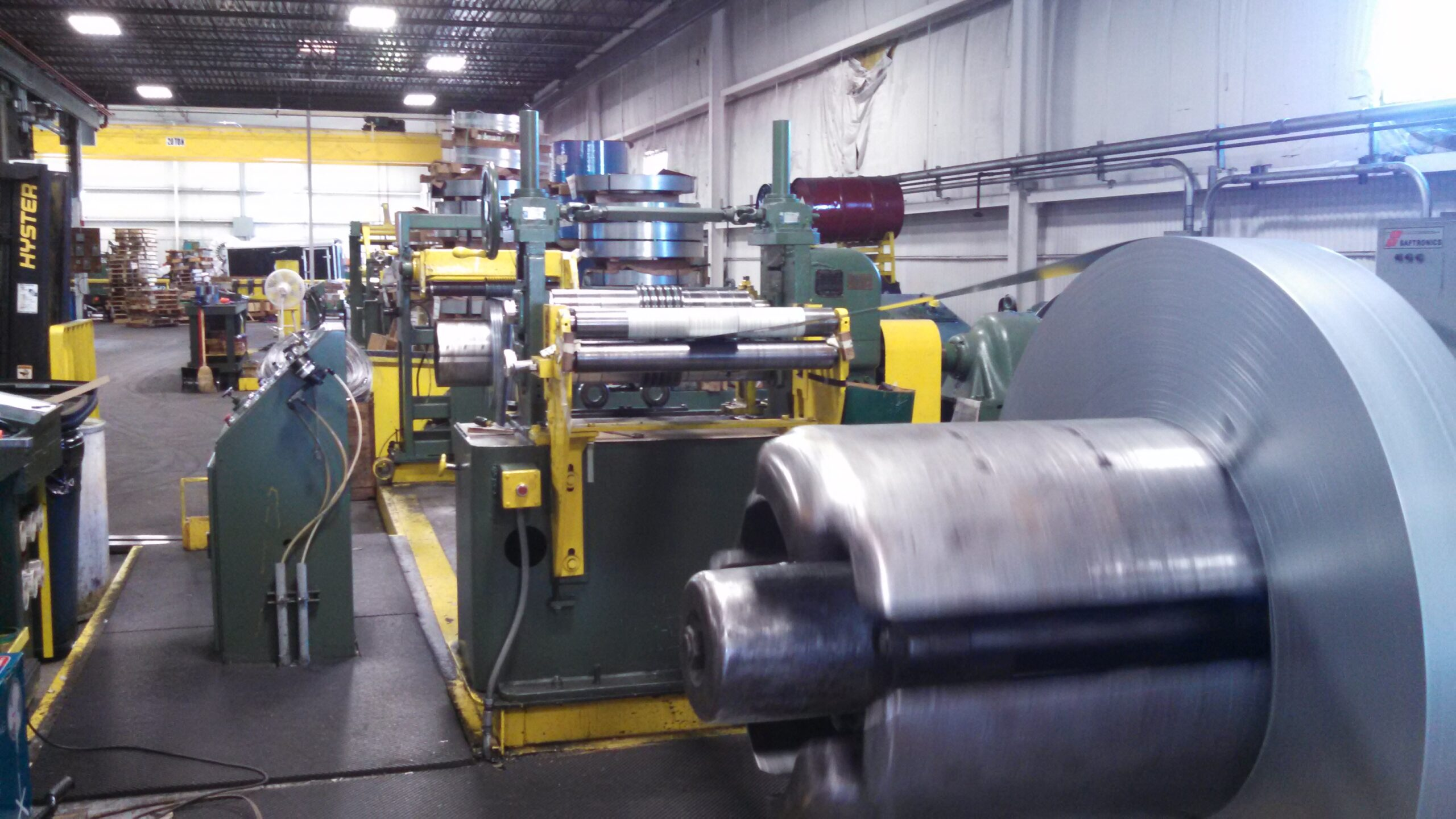 24 Inch Steel Slitting Machine at Consolidation Metals