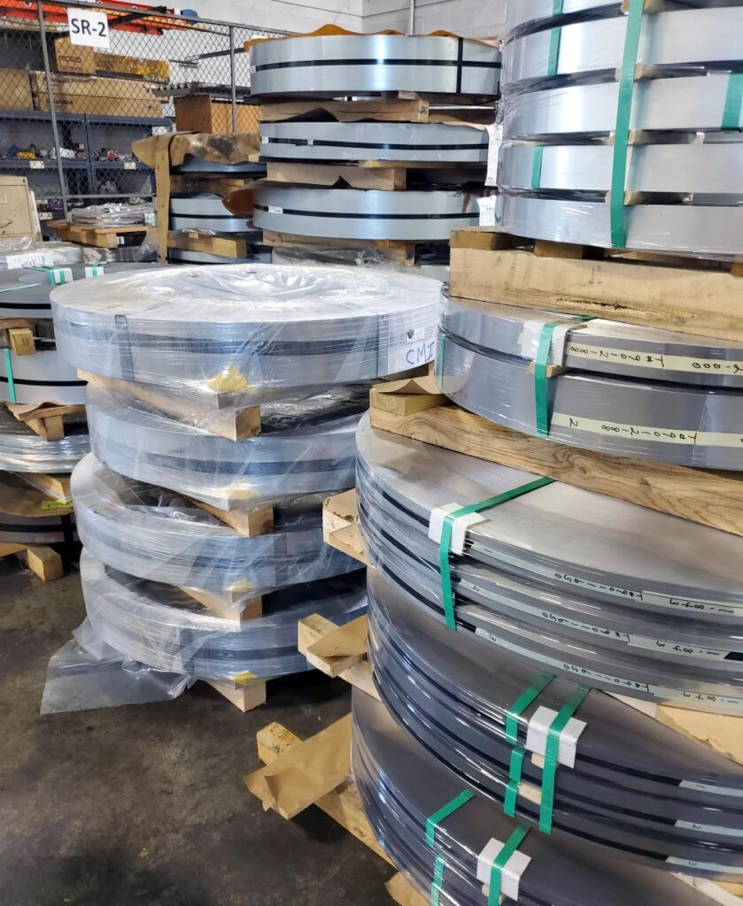 Consolidated metal products